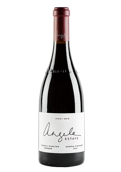 2015 Angela Estate Pinot Noir 9L Etched