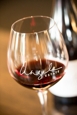Angela Estate Wine Glass